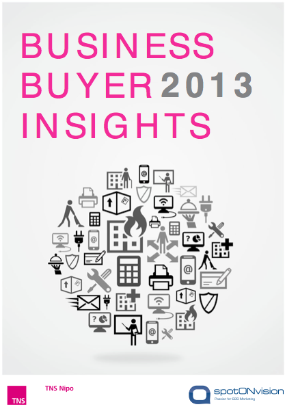 business buyer insights 2013