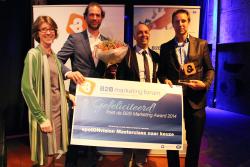 B2B Marketing Award 2014