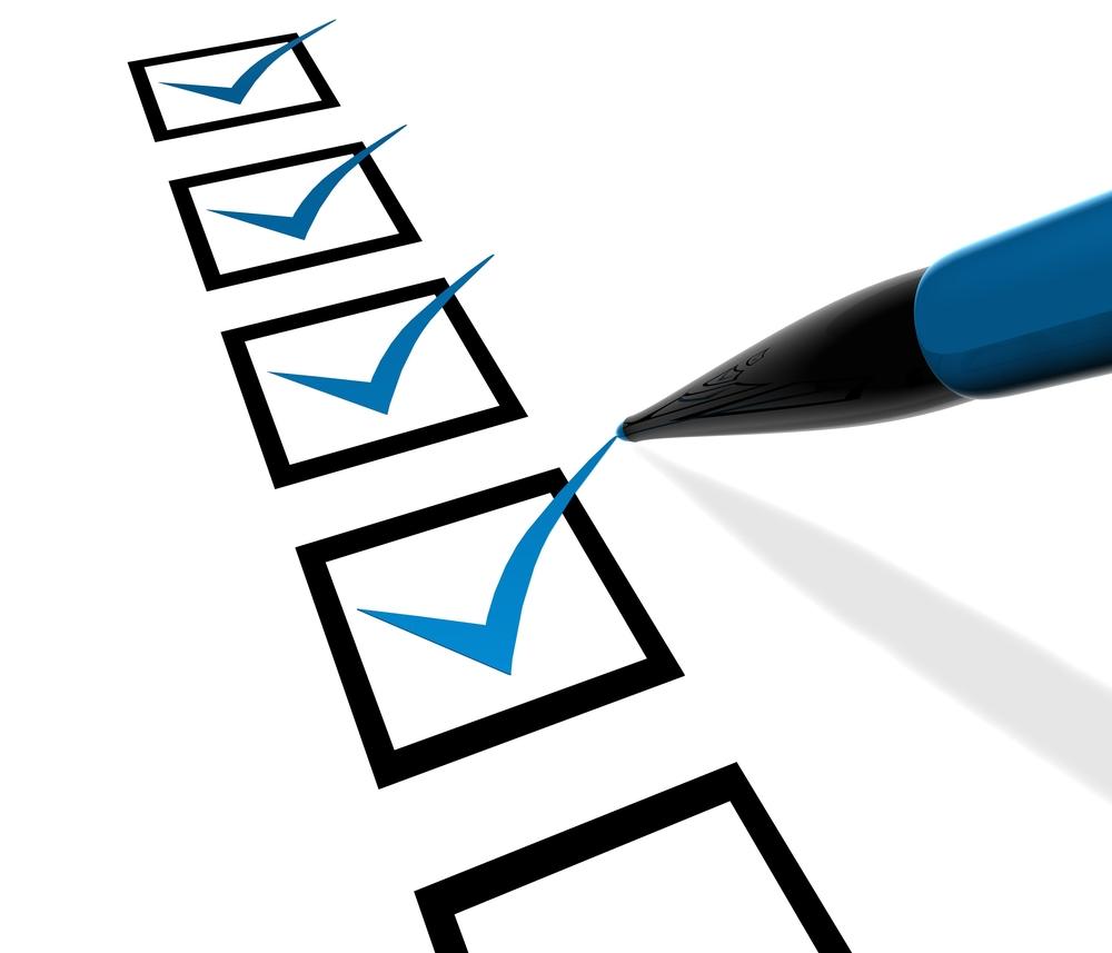 Checklist 10 redenen