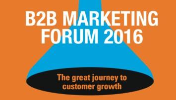 B2B Marketing Forum 2016