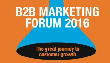 B2B Marketing Forum 2016