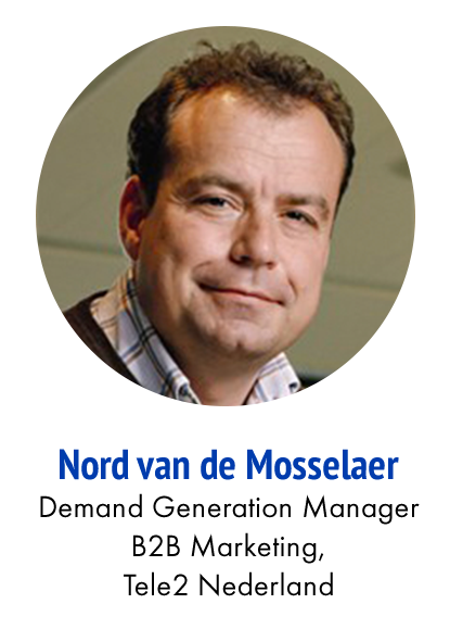 Nord van de Mosselaer Senior Marketing Manager Enterprise Market Tele2