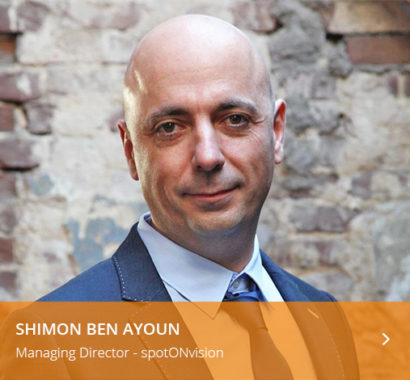Shimon Ben Ayoun Managing Director spotONvision