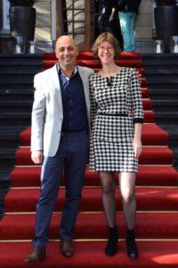 Ingrid Archer en shimon Ben Ayoun organisatoren B2B Marketing Forum