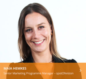 maia hemkes spreker b2b marketing forum 2018