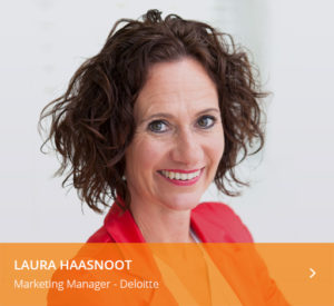 Laura Haasnoot spreker B2B Marketing Forum 2018