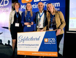 B2B Marketing Award winnaars
