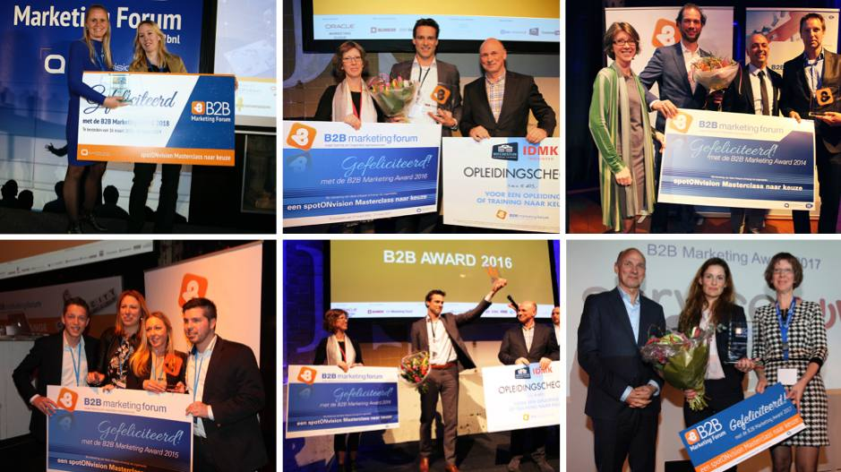 Winnaars B2B Marketing Forum